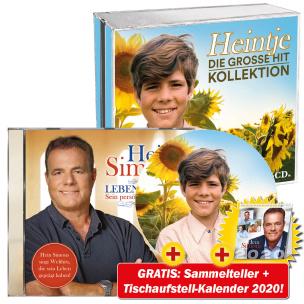Die große Hit Kollektion + Lebenslieder + GRATIS Heintje Sammelteller + Kalender 2020