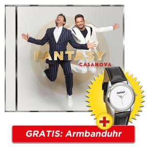 Casanova + GRATIS Armbanduhr