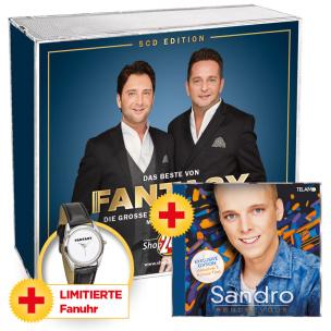 Das Beste von Fantasy + LIMITIERTE Fanuhr + Sandro - Rendezvous
