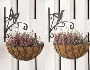Haken für Blumentopf Vogel