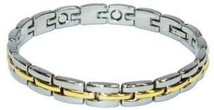 Magnetarmband bicolor für Damen und Herren