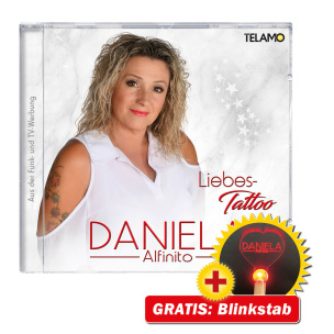 Liebes-Tattoo + GRATIS Blinkstab