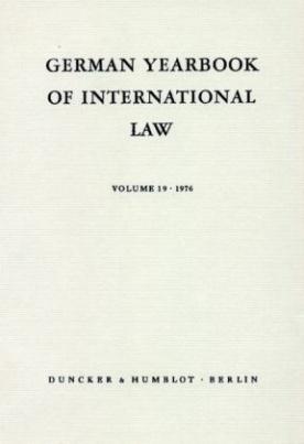 Jahrbuch für Internationales Recht. German Yearbook of International Law. Bd.55