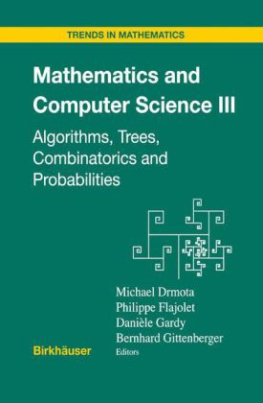 Mathematics and Computer Science. Vol.3