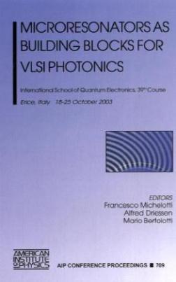 Microresonators as Building Blocks for VLSI Photonics