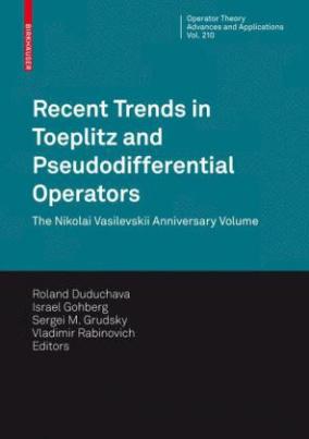 Recent Trends in Toeplitz and Pseudodifferential Operators