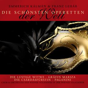Die schönsten Operetten der Welt (2 CDs)