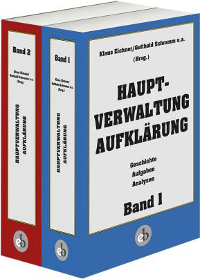Geschichte der Hauptverwaltung A in 2 Bänden im Paket