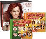 Schlager Aktuell 3 + Schlager Aktuell 4 + Andrea Berg - 20 Jahre Abenteuer