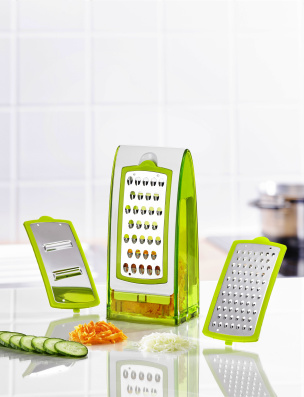 Küchenreibe grün