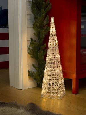 LED Acryl Pyramide 40 cm