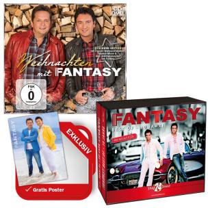 Weihnachten mit Fantasy EXKLUSIV 2 Bonustitel + Best Of + EXKLUSIV Megaposter