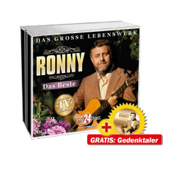 Ronny - Das Beste - Das große Lebenswerk EXKLUSIV + Gedenkmünze