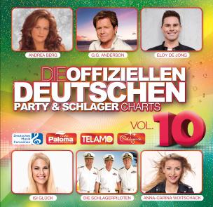 Die offiziellen deutschen Party & Schlager Charts Vol. 10