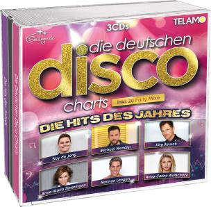Die Deutschen Disco Charts - Hits des Jahres