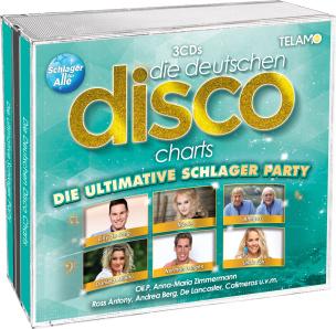 Die deutschen Disco Charts - Die ultimative Schlager Party
