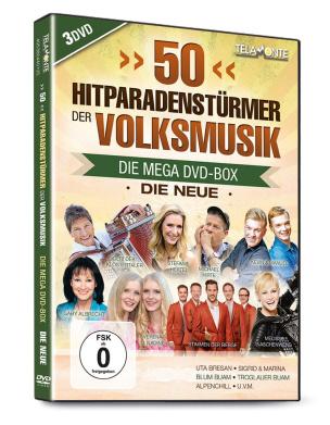 50 Hitparaden - Stürmer der Volksmusik - Die Neue