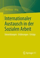 Internationaler Austausch in der Sozialen Arbeit
