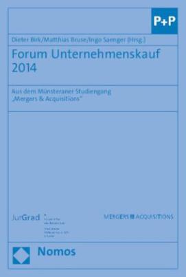 Forum Unternehmenskauf 2014