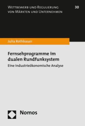 Fernsehprogramme im dualen Rundfunksystem