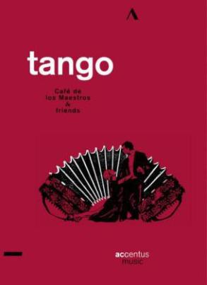Tango - Café de los Maestros & friends, 1 DVD, 2