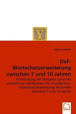DaF-Wortschatzerweiterung zwischen 7 und 10 Jahren