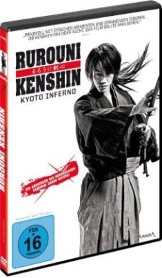 Rurouni Kenshin - Kyoto Inferno, 1 DVD