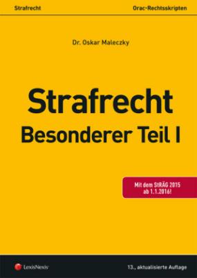 Strafrecht - Besonderer Teil I (f. Österreich)