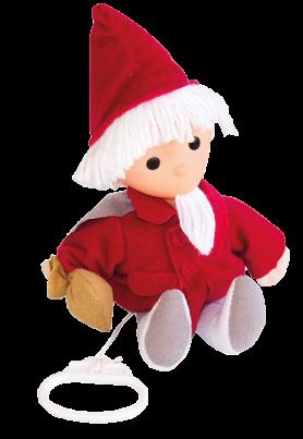Sandmännchen-Puppe