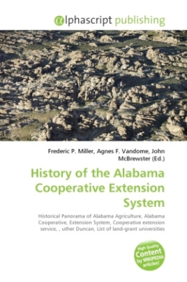 History of the Alabama Cooperative Extension System