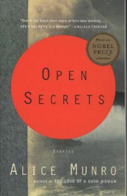 Open Secrets. Offene Geheimnisse, englische Ausgabe