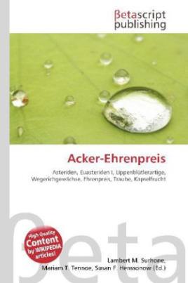 Acker-Ehrenpreis