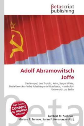Adolf Abramowitsch Joffe