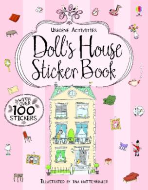 Doll's House Sticker Book. Mein Stickerbuch: Im Puppenhaus, englische Ausgabe
