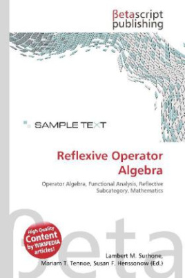 Reflexive Operator Algebra