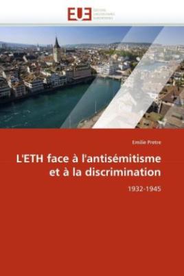 L'ETH face à l'antisémitisme et à la discrimination