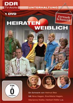 Heiraten weiblich (DDR TV-Archiv) (DVD)