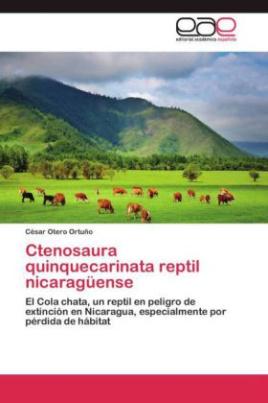 Ctenosaura quinquecarinata reptil nicaragüense