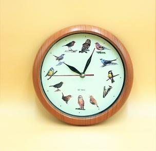 Vogelstimmen - Wanduhr