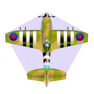 Kinderdrachen Mini Mylar Kites - Flugzeug Spitfire