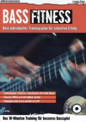 Bass Fitness, m. Audio-CD. Bd.1