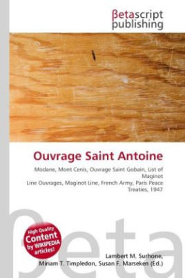 Ouvrage Saint Antoine