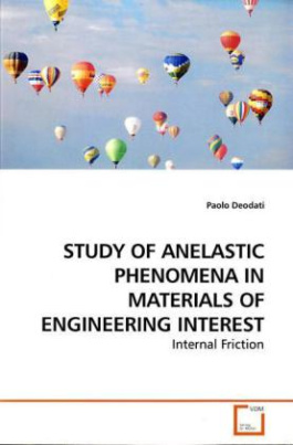 STUDY OF ANELASTIC PHENOMENA IN MATERIALS OF ENGINEERING INTEREST