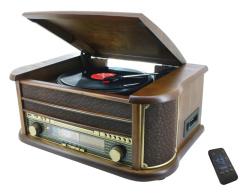 NR513A Nostalgie Stereo Musikcenter mit Encoding-Funktion
