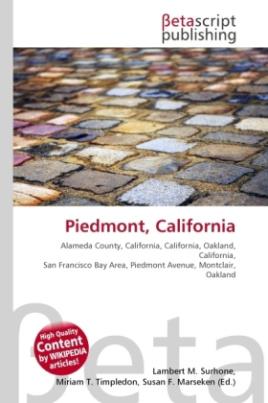 Piedmont, California
