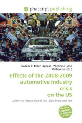 Effects of the 2008-2009 automotive industry crisis on the United States