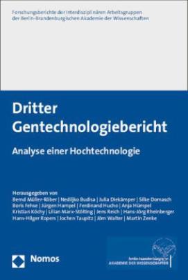 Dritter Gentechnologiebericht