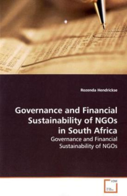 Governance and Financial Sustainability of NGOs in  South Africa