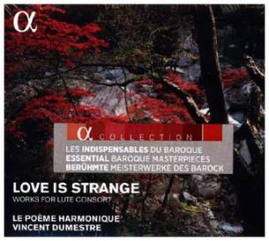 Love is strange - Werke für Lautenconsort, 1 Audio-CD