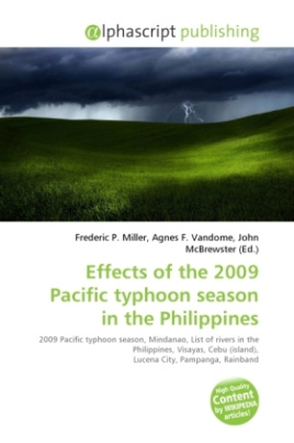 Effects of the 2009 Pacific typhoon season in the Philippines